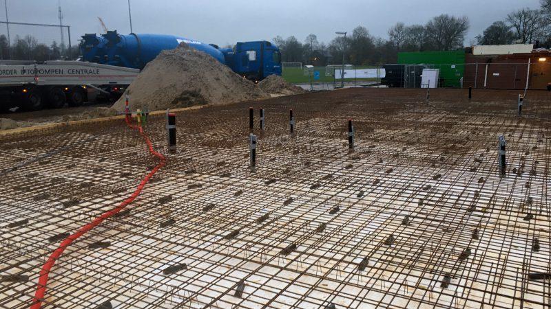 betonconstructie-raamwerk
